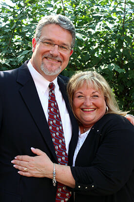 Dr. TJ Miller II and his sister, Susan Foley
