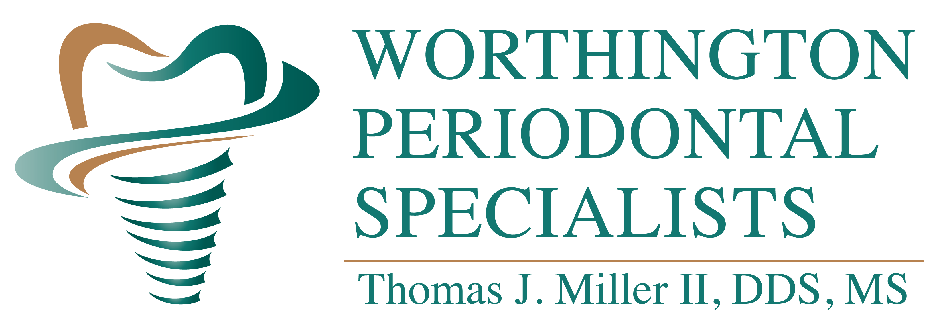Worthington Periodontal Logo